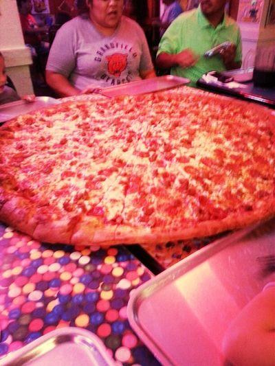 62 Inch Pizza!:)