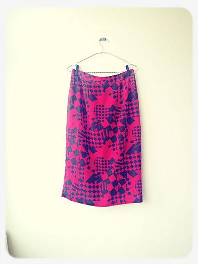 Vintage Fashion Skirt Vintage Fashion