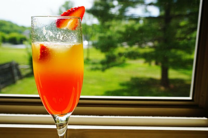 My own version of a Orange Pineapple Mimosa... Yummy Madlovphotography Madlovphotos Peace And Quiet Relaxing Mimosa Sony A6000 Brunch Around The World Check This Out