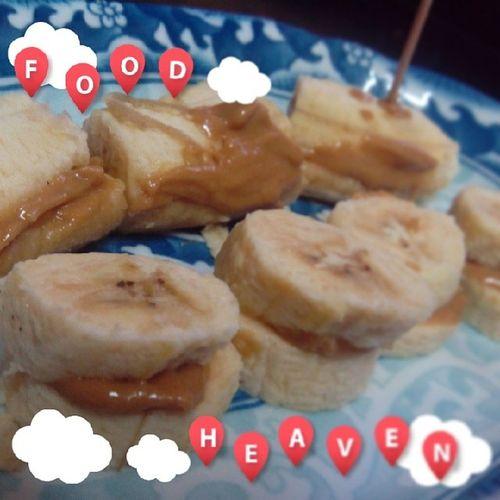 Why not having healthy snack? BananaPeanutButter EatHealthy Livehealthy