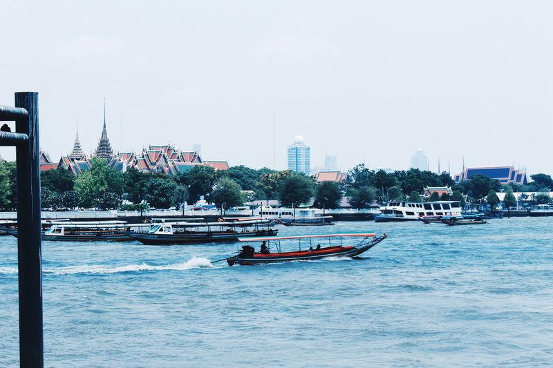 Chaophraya River Thailand Bangkok Photography View River Boat Chaophraya First Eyeem Photo