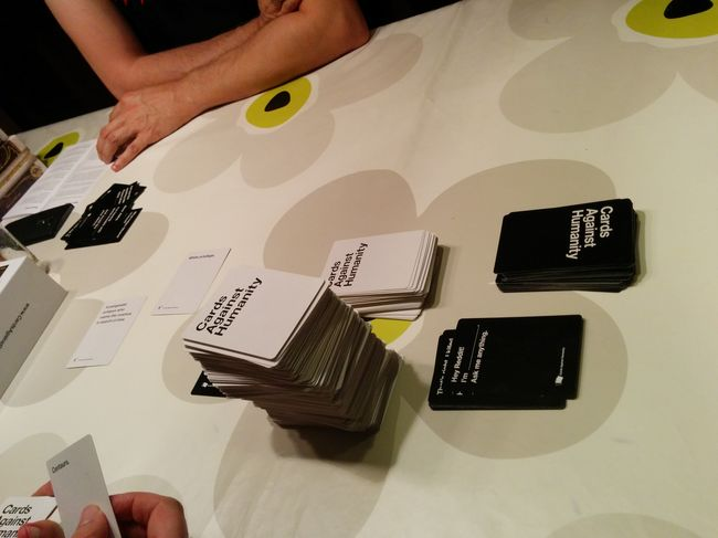 Cardsagainsthumanity... The fame that always goes wrong...