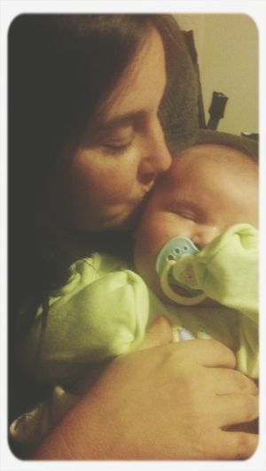 Grandma And Grandson Kisses ♡ I LOVE HIM♥