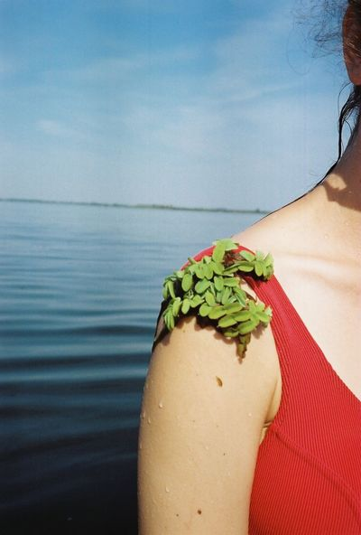 35mm 35mm Film Analogue Photography Film River View Riverside Shoulder Body Part Close Up Close-up Female Film Photography Filmisnotdead Girl Human Body Part Lake Leisure Activity Lifestyles Nature Outdoors Plant River Summer Water Women