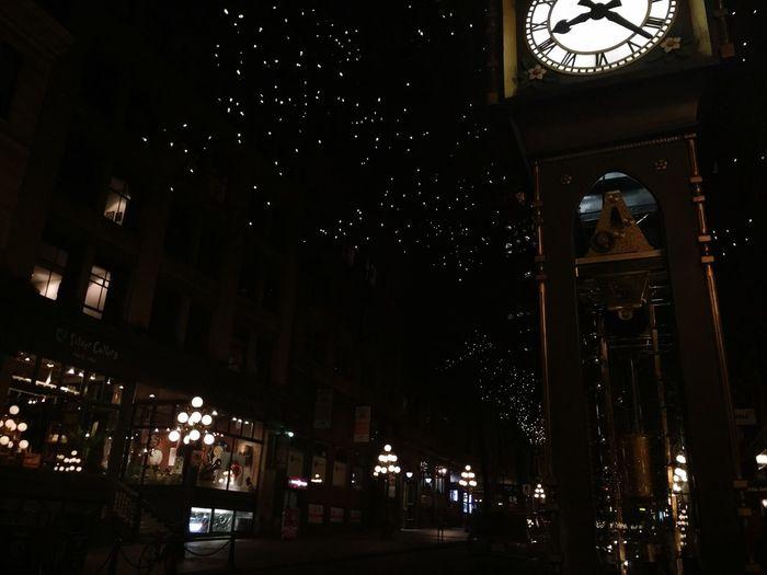 Night Lights Clockwork Steamclock