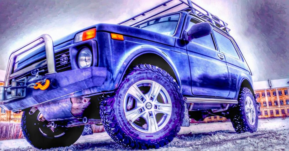 Offroaddrive Offroad Car Transportation Mode Of Transport Outdoors Land Vehicle Tire No People Low Angle View Day Sky