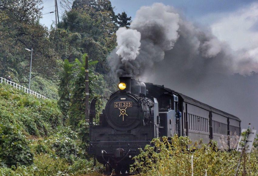 さぁ行くんだ〜 その顔をあ〜げて〜♪ 機関車 蒸気機関車 Locomotive Train HDR