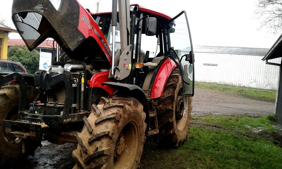 Land Vehicle Day Outdoors Transportation Tire No People Sky Farm Job Road Tractor Love Agricultural Machinery Tractors Agriculture Farm Tractor In A Field Tractor Working Manufacturing Equipment Transportation Car Field EyeEm Selects
