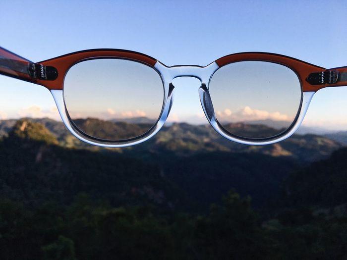Glasses Sky