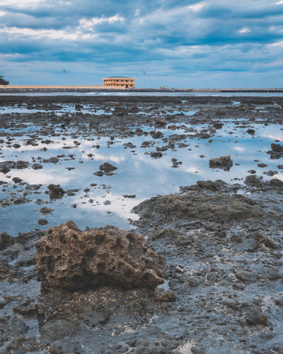 Stone castle Castle Philippines Background Beach Beauty In Nature Cloud - Sky Day Foreground Horizon Over Water Nature No People Outdoors Salt - Mineral Scenics Sea Sky Stone Wallpaper Water Modern Workplace Culture Go Higher The Still Life Photographer - 2018 EyeEm Awards