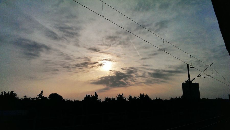 Sky And Clouds Clouds And Sky Sunset #sun #clouds Skylovers Sky Natu Re Beautifulinnature Naturalbeauty Photography Landscape [ [a: Silohette