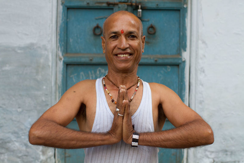 The yoga teacher. Colors Streetphotography Travel People Photography India Incredible India People Indian Portrait
