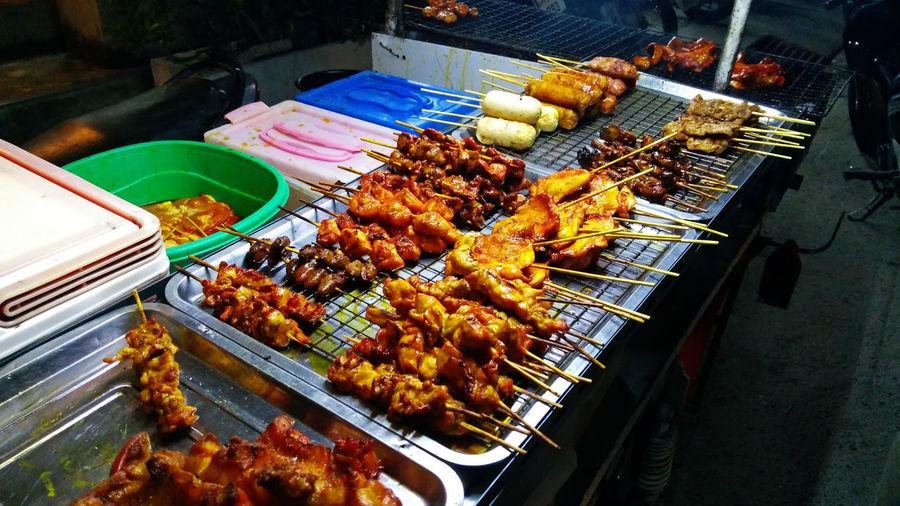 Street food in