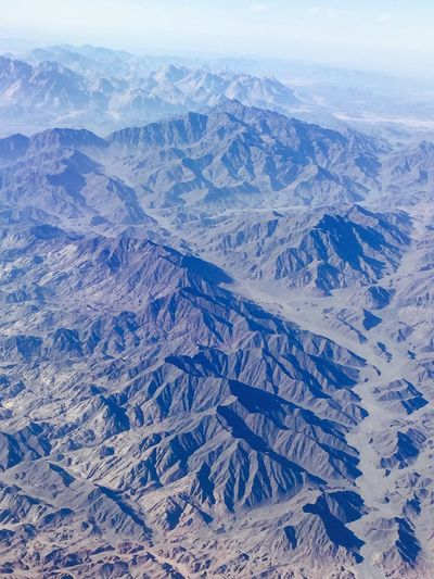Aerial view of landscape