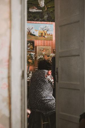 Work Grandma Home Memories Close-up Open Door Doorway Door Entrance