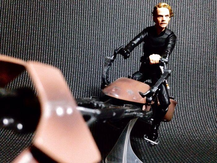 Luke Skywalker with Speeder Bike SHfiguarts Shf Shfiguartsphotography Action Figures Actionfigurephotography Starwarstoys Starwarsfigures Starwarstoypix Starwars First Eyeem Photo