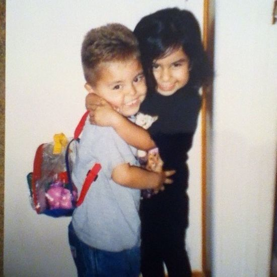 My cute cousin Eli & I when we were small ^_^