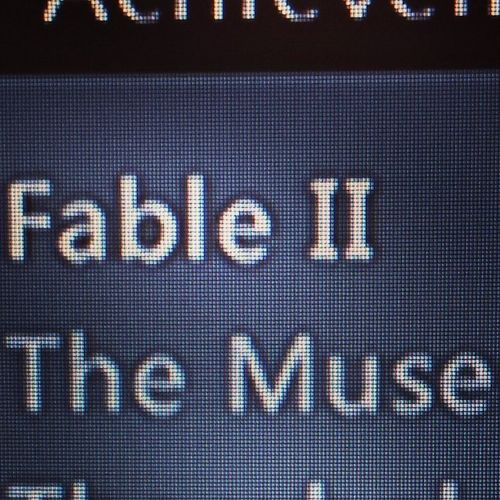 Awesome name for an achievement ? Xbox360 Xboxachievement Muse Themuse fable2 xbox