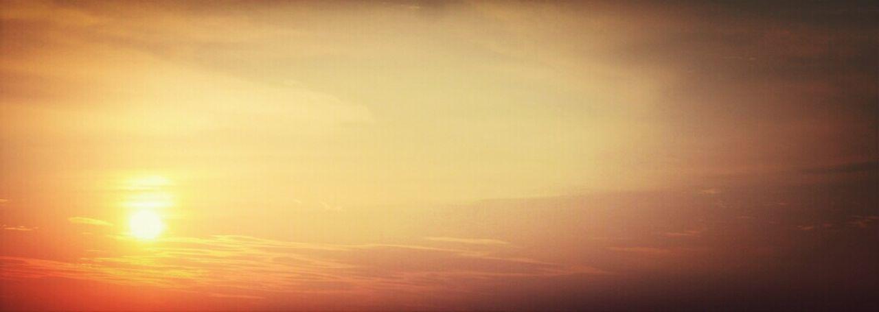 Catching the sun. Amazing View Sunset Sun Sky