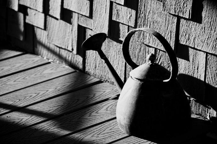 Antique Watering can in Prescott, AZ. Blackandwhite Antique Arizona Wateringcan Prescott, AZ