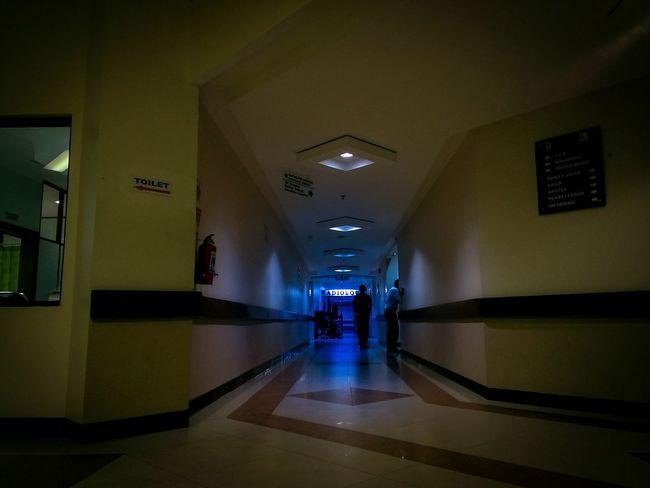 Hospital Pertamina Radiology Indoors  People Full Length Architecture Colours