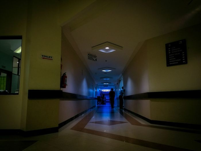 Hospital Pertamina Radiology Indoors  People Full Length Architecture Colours