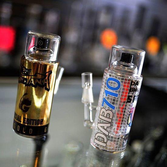 Spraypaint Dablife Dab Glasswork Art Glassart Stoner Lifestyle Paint Bong 710