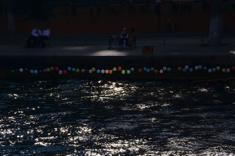 Traveling Streetphotography Sea Water Men Light Street Photography Women Sitting Balloons Colors Istanbul Colorful Turkey Capture The Moment Men Vs Women TakeoverContrast Finding New Frontiers The City Light EyeEm Diversity