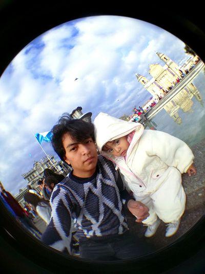 Fish-eye Lens Child Men Guy Smile ✌ First Eyeem Photo