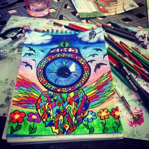 My Instagram : rosi432195 Art, Drawing, Creativity Dessin Fresh Produce Frenchgirl Girl Artist Colors In America