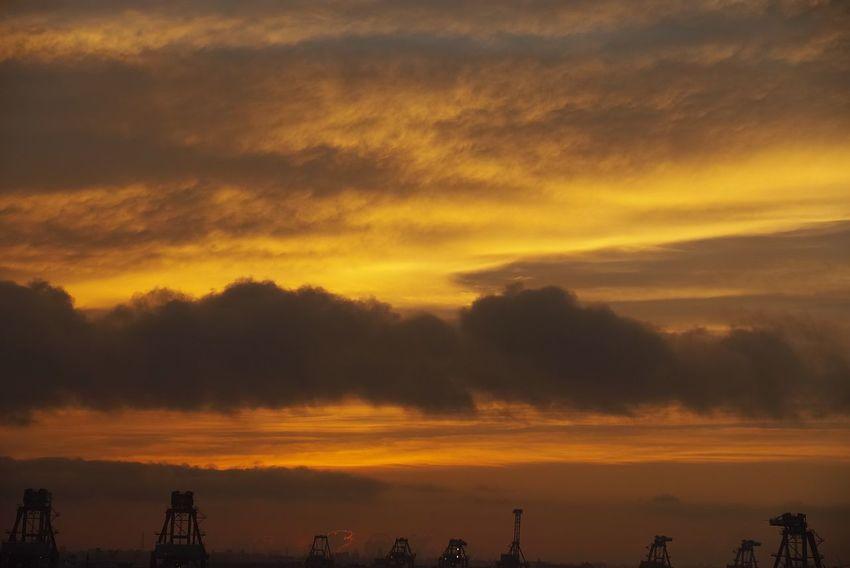 Sunset Sky Cloud - Sky Beauty In Nature Water Scenics - Nature Orange Color