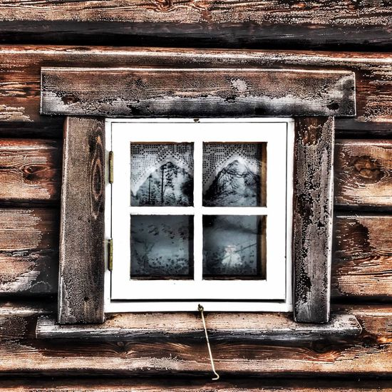Frosty day Window Architecture Built Structure No People Day Building Exterior Shades Of Winter