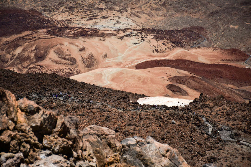 Nature Geology High Angle View No People Physical Geography Tranquility Landscape Textured  Arid Climate Pómez Dune Hello World Popular El Teide National Parc The Weekend On EyeEm Eye4photography  EyeEm Nature Lover Eye4photography  Nature Photography Hera Travel Tenerife Tranquility The Photographer Canary Islands Volcanic Landscape Mountain Peak Travel Destinations