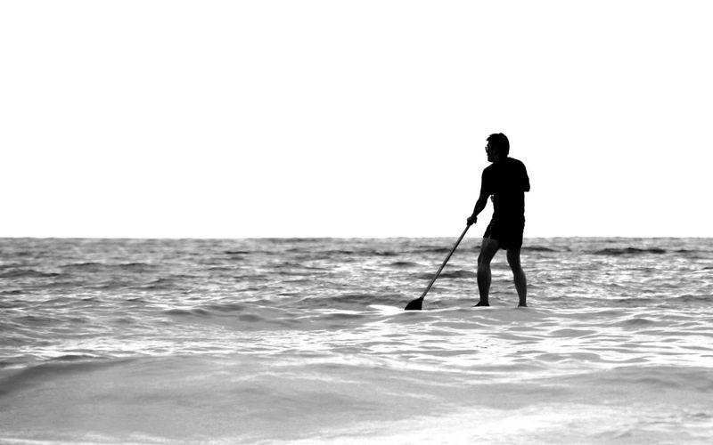 #blackandwhite #minimalist #nature_collection #EyeEmNaturelover #nature #ocean #sea#waves #silhouette #singlelife #whitebackground