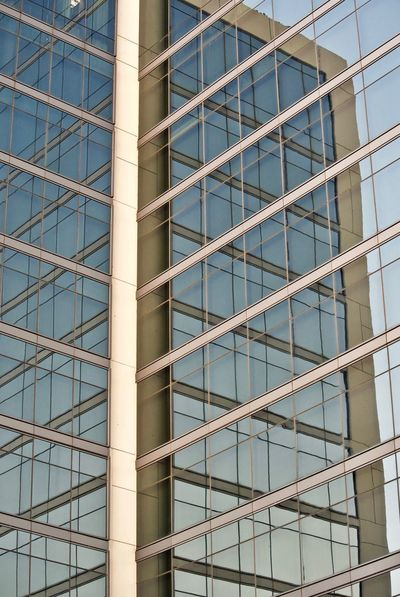 Architecture Built Structure Building Exterior Building Glass - Material Low Angle View Modern Office No People Office Building Exterior Full Frame Day City Pattern Window Backgrounds Outdoors Reflection Glass Transparent
