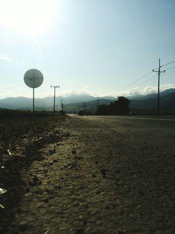 Photography Stranded Long Road Hot Day Sky Porn Sun Light