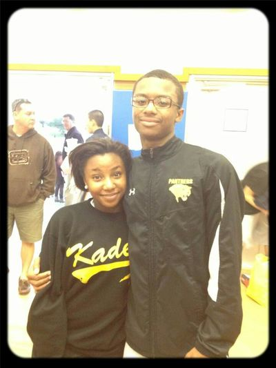 Me And Jamarioooo (: