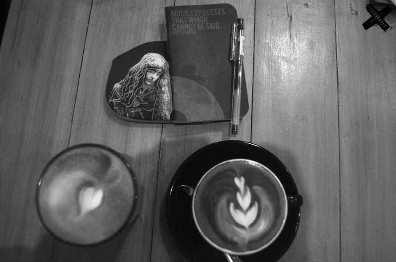 Blackandwhitephotography Chilling Close-up Coffee ☕ Coffeeshop Design FUEL.PH Latte Macchiato No People Still Life
