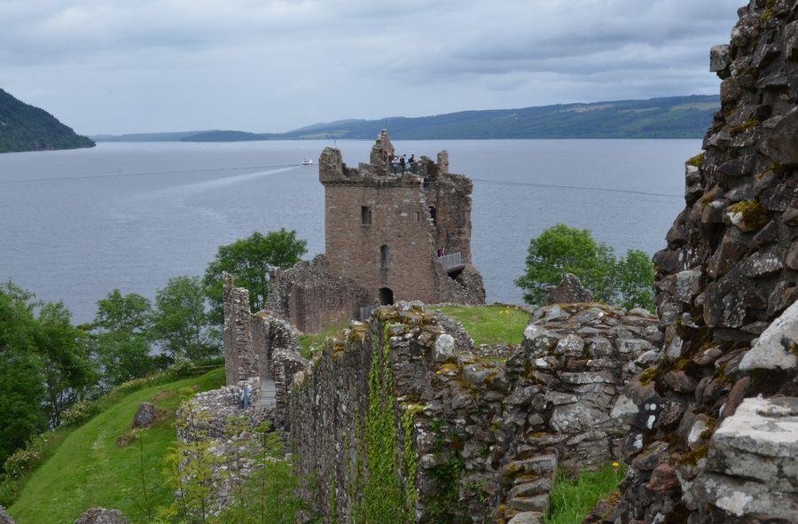 Castle Castle Ruin Castle View  Historical Building Loch Ness Castle No People Scotland Scottish Highlands