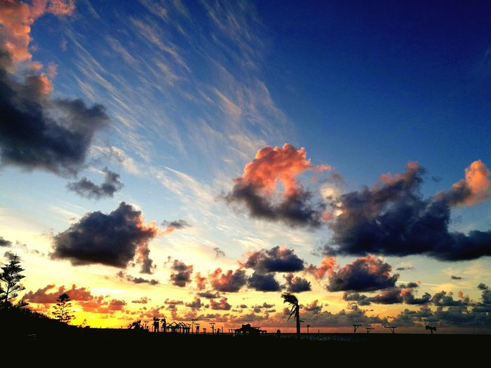 Sunset Sky Cloud - Sky Silhouette Nature Outdoors No People Beauty In Nature Scenics Day Rimon2k_photography