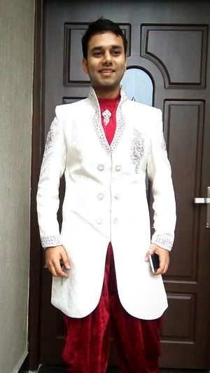 Hi! Hello World Check This Out That's Me Ethnicwear Ready To Go Out  For Party Marriage Of A Friend Full Fun Enjoying Life Popular Stay Cool Smiling