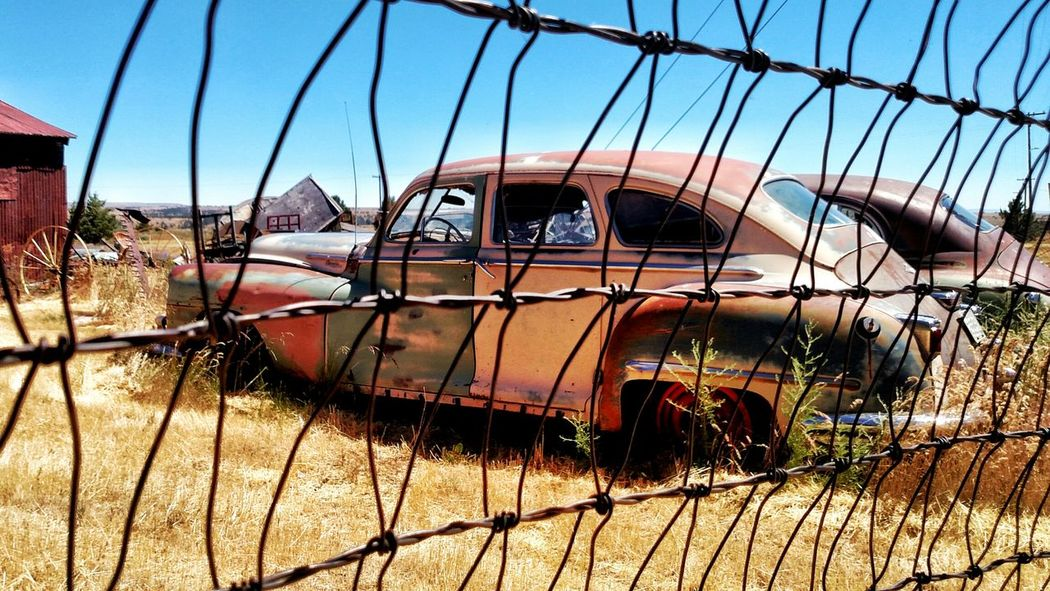 EyeEm Selects The Week Of Eyeem Decay_nation Rustic Beauty Decayed Beauty Rurual Scene Ababdoned Countryside Vintage Car Behind Fences... Best Photos EyeEm Best Shots New Talents