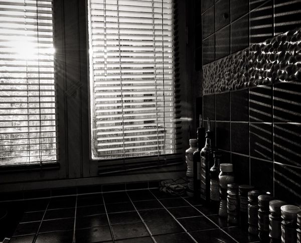 Indoors  Window In A Row Window Sill Window Frame Day Messy Surface Level Spices House Bnw Contrast Brightness Family Modern Geometric Shapes Urban Landscape Paris Urbanphotography Urban Geometry Urban No People Interior Dark Love