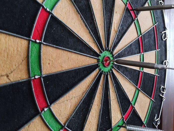 Ziel Darts Aim Target Bang On Target