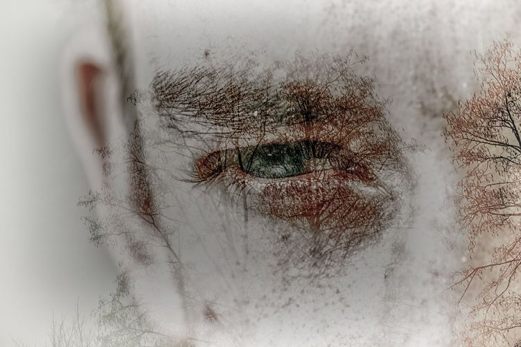 Canon Eos80d Double Exposure Human Eye Human Body Part One Person Close-up Eyeball Human Face Eyelash Real People Day People Sensory Perception