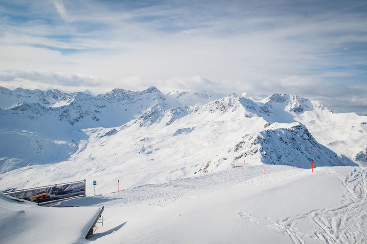 skiing area Arosa Graubünden Skiing Winter Sport Beauty In Nature Cold Temperature Day Landscape Mountain Mountain Range Nature No People Outdoors Scenics Ski Sky Snow Snowcapped Mountain Tranquil Scene Tranquility Weather Winter