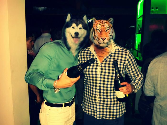 Good Time... Drinking Relaxing Animals Good Time Friends Saturday Night Champagne Wild Night Hanging Out Taking Photos