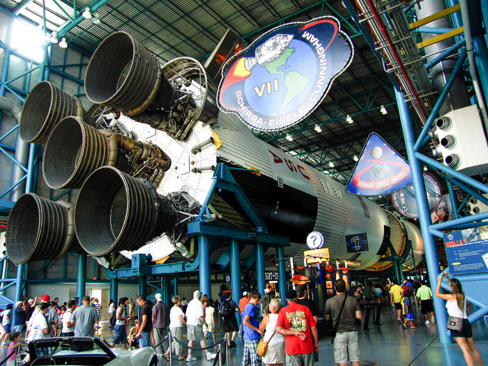 Apollo-Programm Kape Kennedy Saturn V  Space Centre  USA Florida