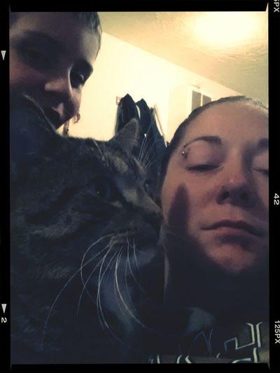 Me, My Son & My Kitty!!!