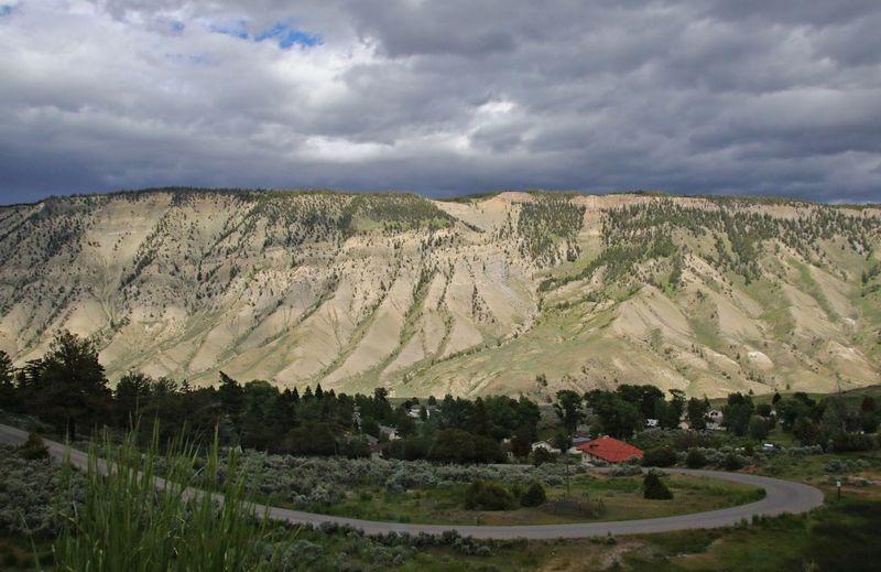 The caldera of